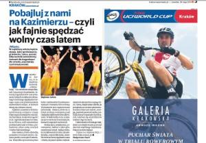 strona z gazety NaszeMiasto.pl